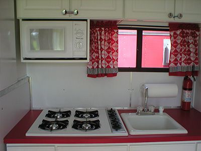 Vendor Trailer Kitchen