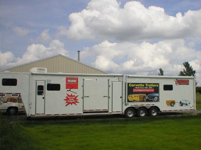 Large Vendor Trailer-Campers for Sale