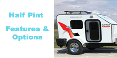 Half Pint Teardrop Trailer Features and Options