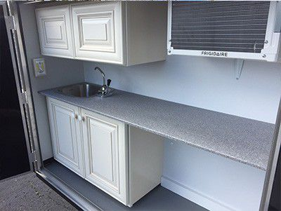 Countertop Quality : Countertops are high-quality, solid surface composite. This model has ...